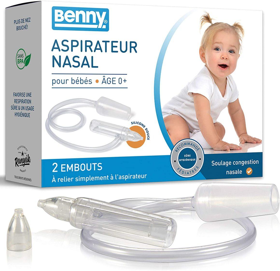 Aspiratore nasale per neonati con regolazione automatica