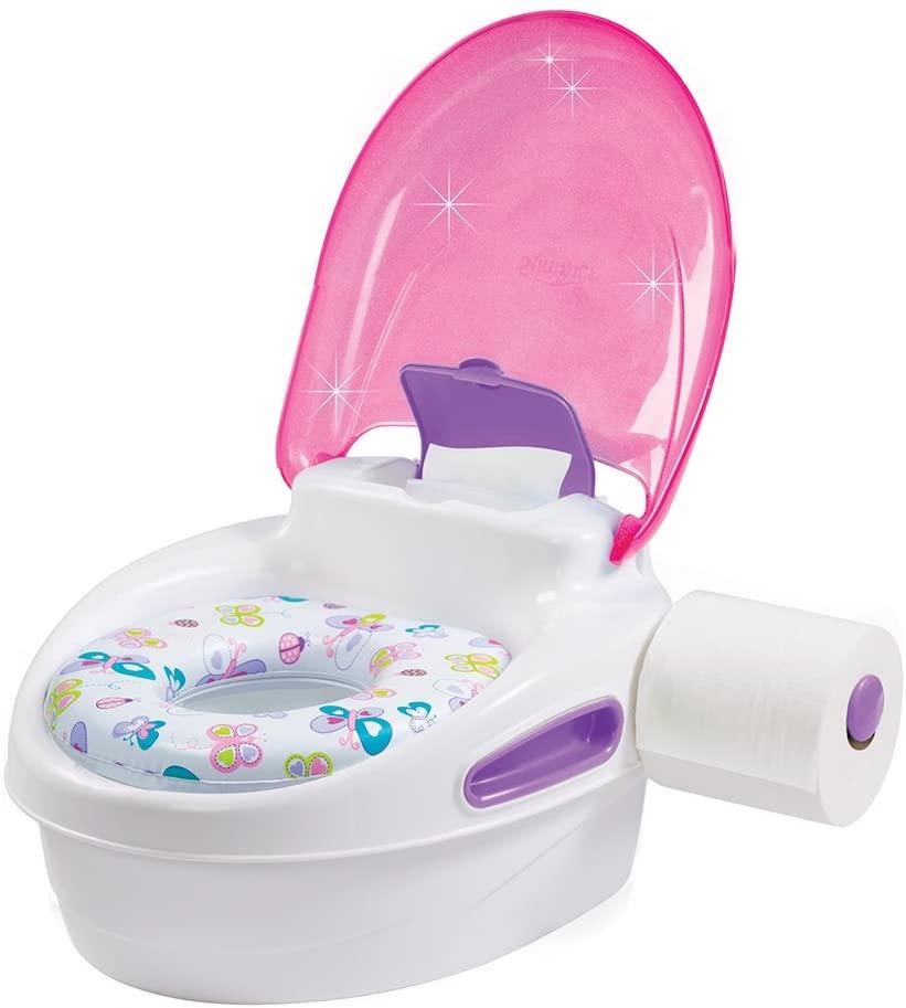 Vasino da toilette rosa baby per bambina
