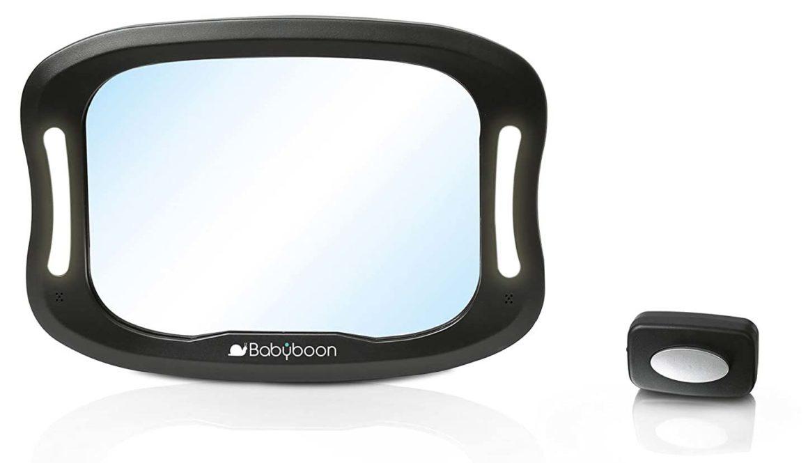 Babyboon LED Auto Baby Mirror