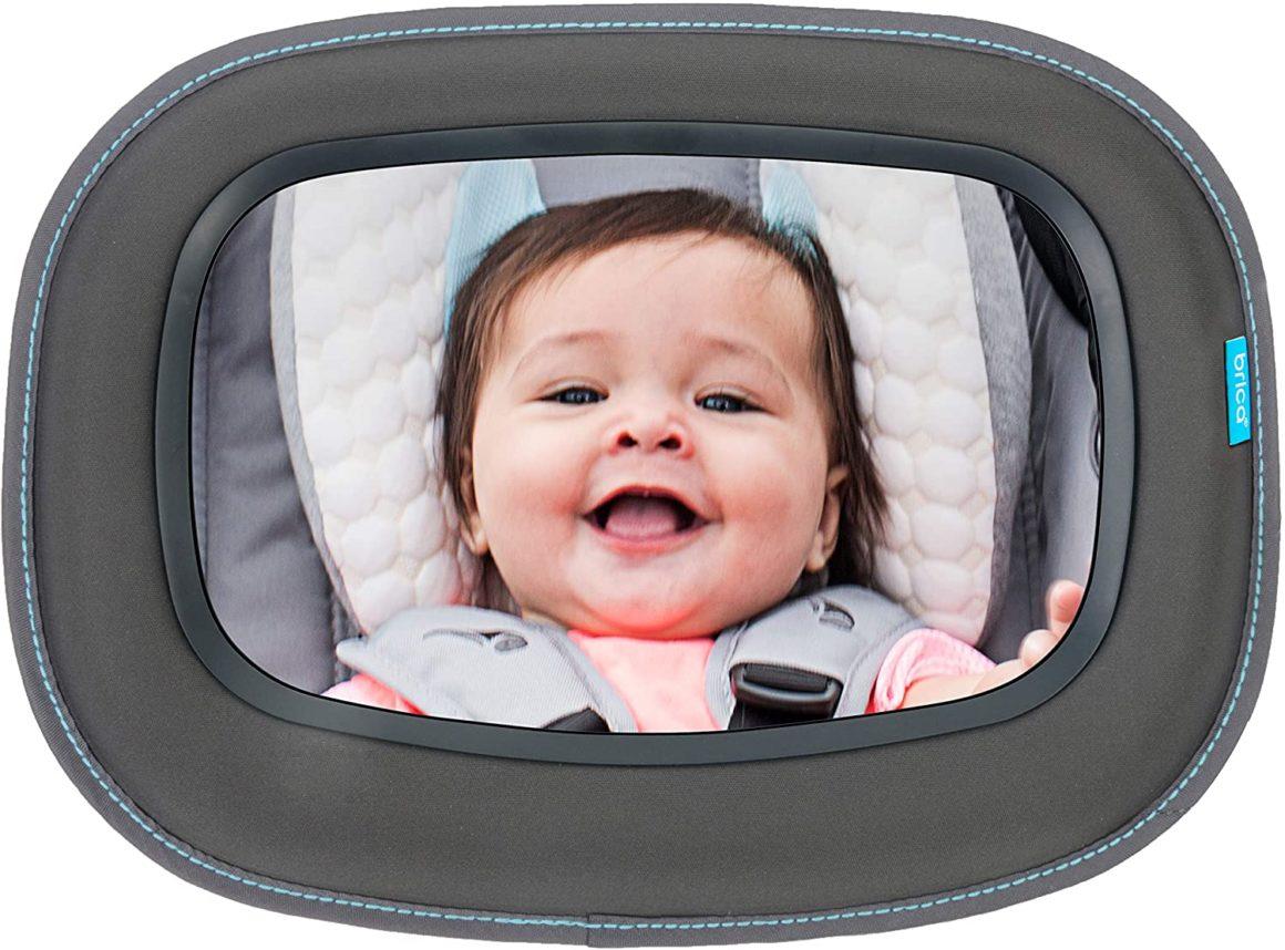 Specchio auto con visuale libera Brica Munchkin