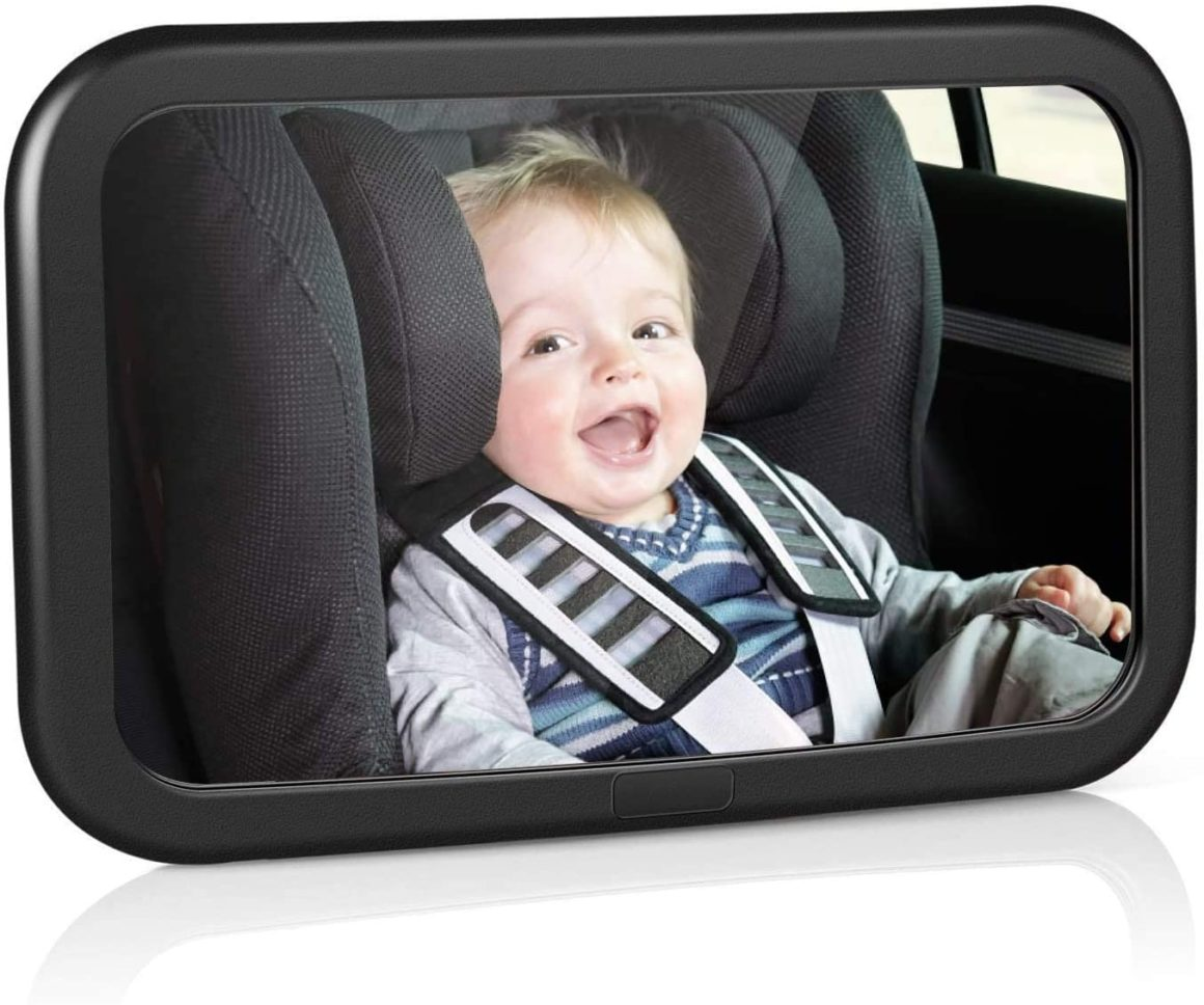 Specchietto retrovisore di sicurezza Amzdeal con funzione di inclinazione