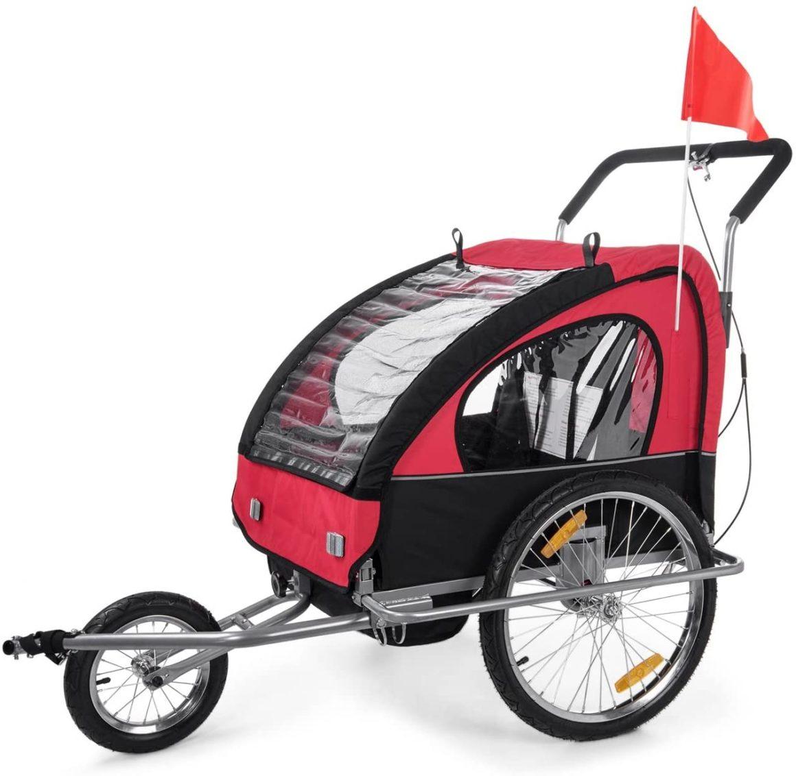 Rimorchio per bici convertibile Samax