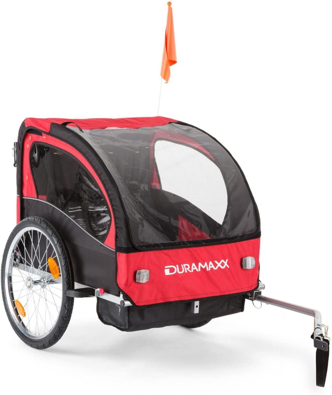 Duramaxx Trailer Trailer Swift 2-in-1 Buggy Bike per bambini e neonati 2 posti