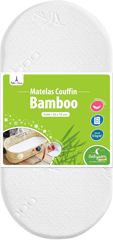 Materasso per neonati in bambù per culla Babysom