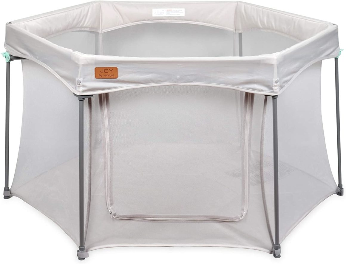 Box per bambini pieghevole e compatto con telo Venture All Stars Joy