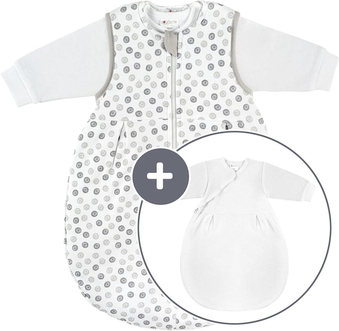 Coconette Circle - Sacco nanna per neonati per tutto l'anno