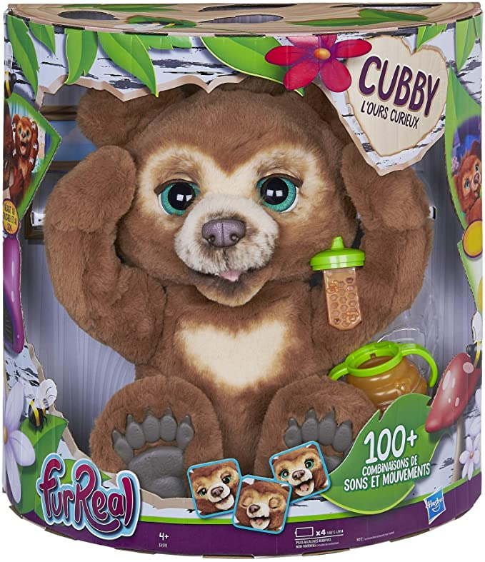 Peluche interattivo di Furreal Friends Cubby
