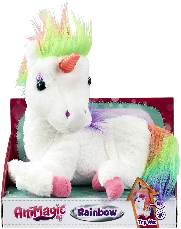 Peluche Animagic Unicorno Interattivo
