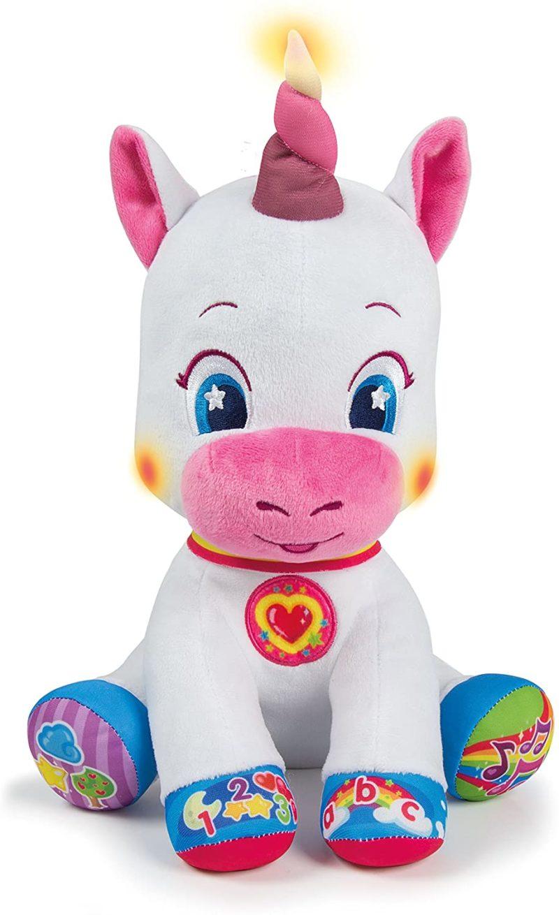 Peluche interattivo unicorno Clemontoni