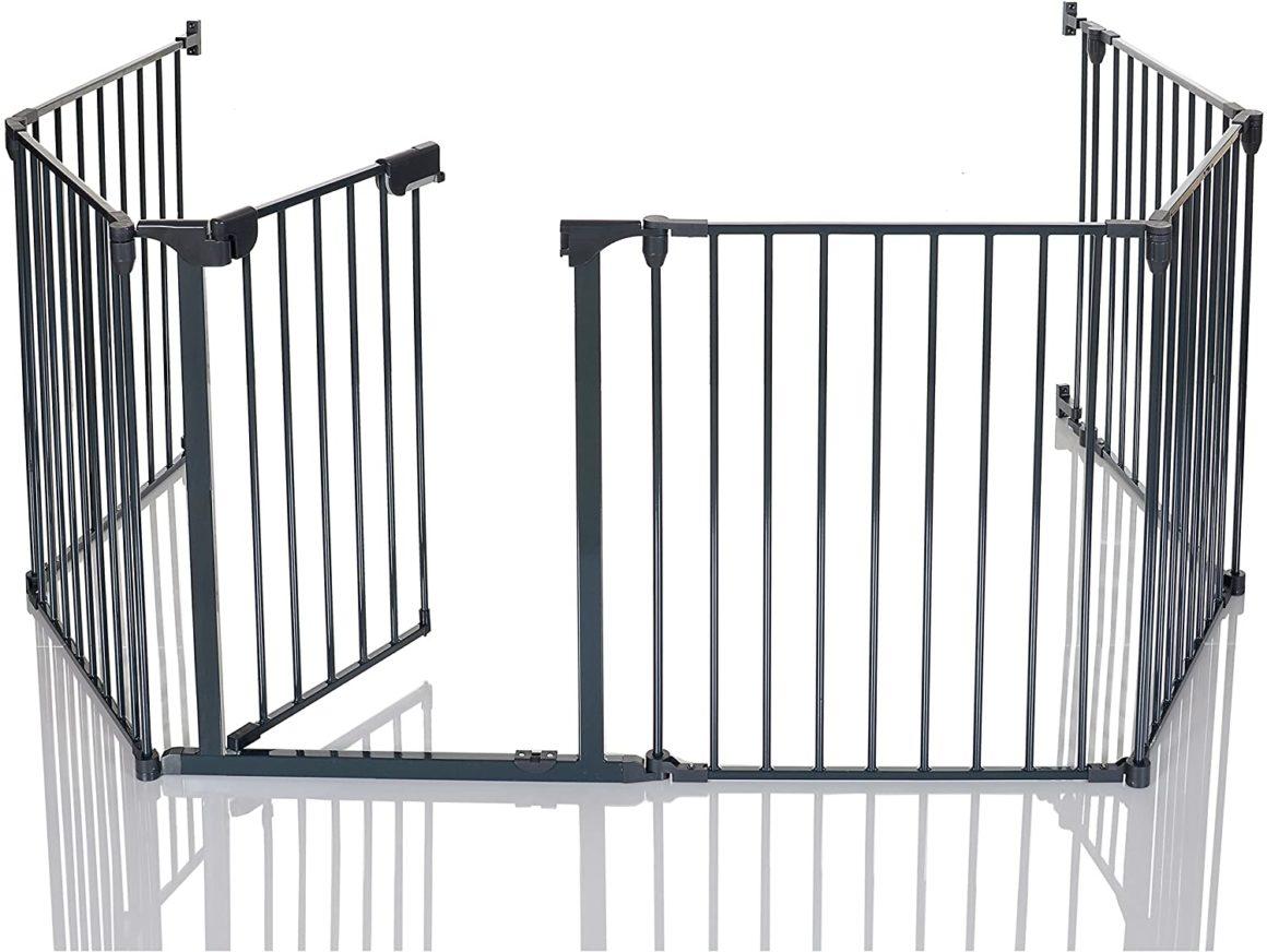 Cancelli di sicurezza per caminetti pieghevoli per bambini LCP