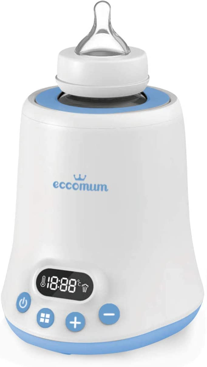 Scaldabiberon Eccomum con display LCD digitale 6 in 1