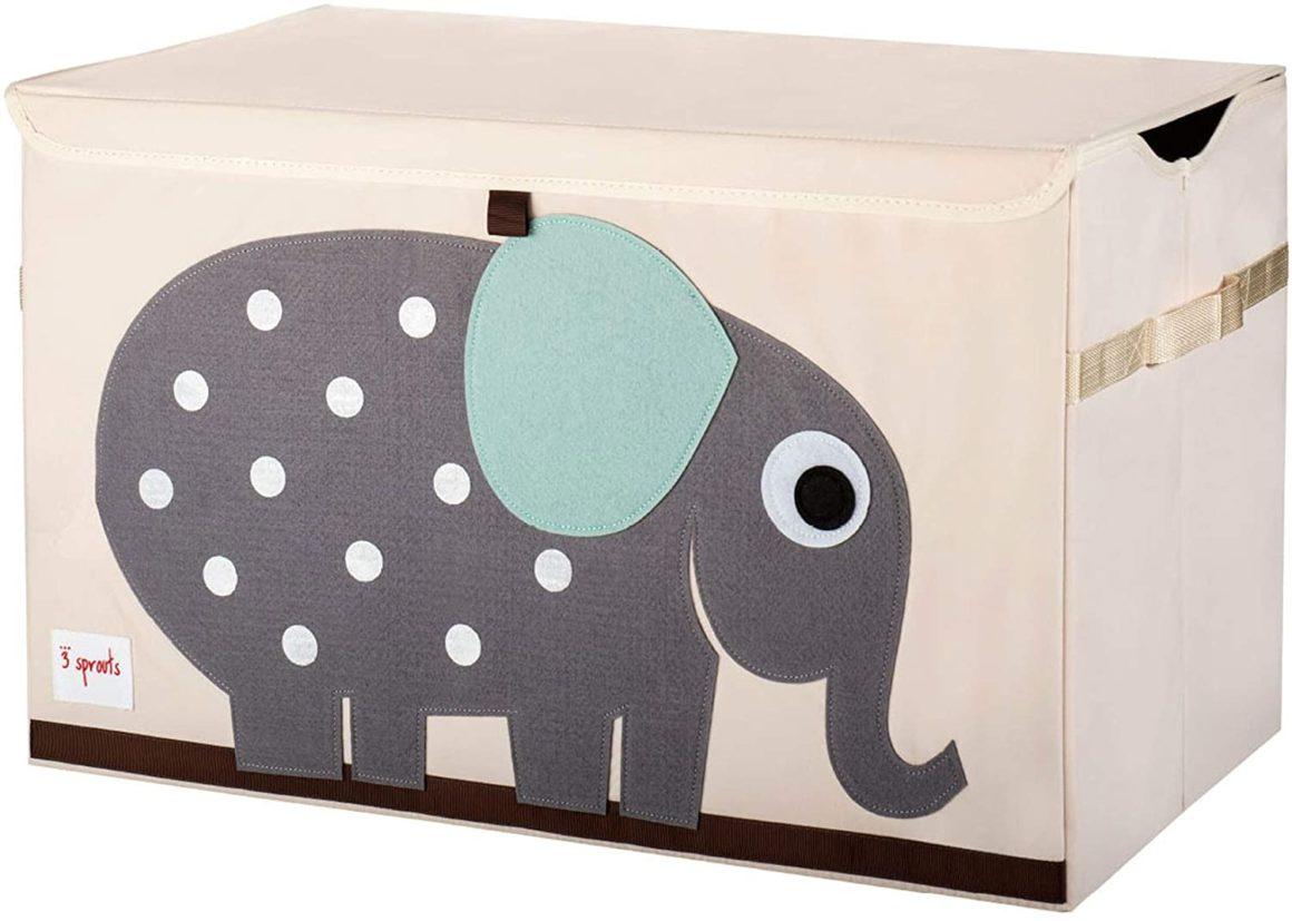 Scatola dei giocattoli con 3 germogli di elefante