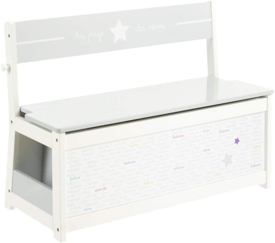 Atmosphéra 3 in 1 scatola portagiochi in legno