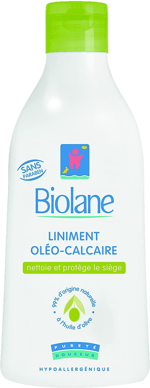 Linimento per neonati Oléocalcaire Biolane 300 ml