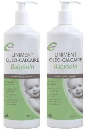Cooper ha stabilizzato il linimento per neonati con oleocalcio