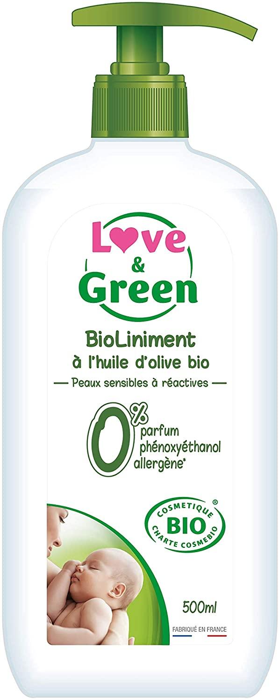 Biolinimento per neonati Love & Green 500 ml