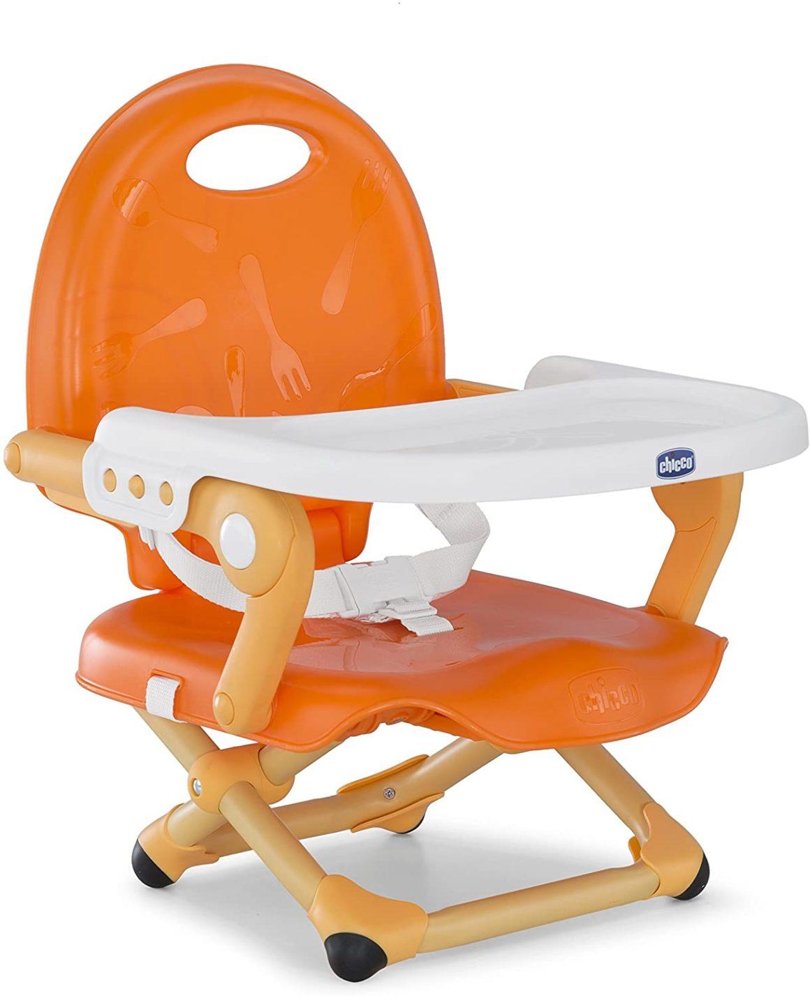 Seggiolino per neonati arancione mandarino
