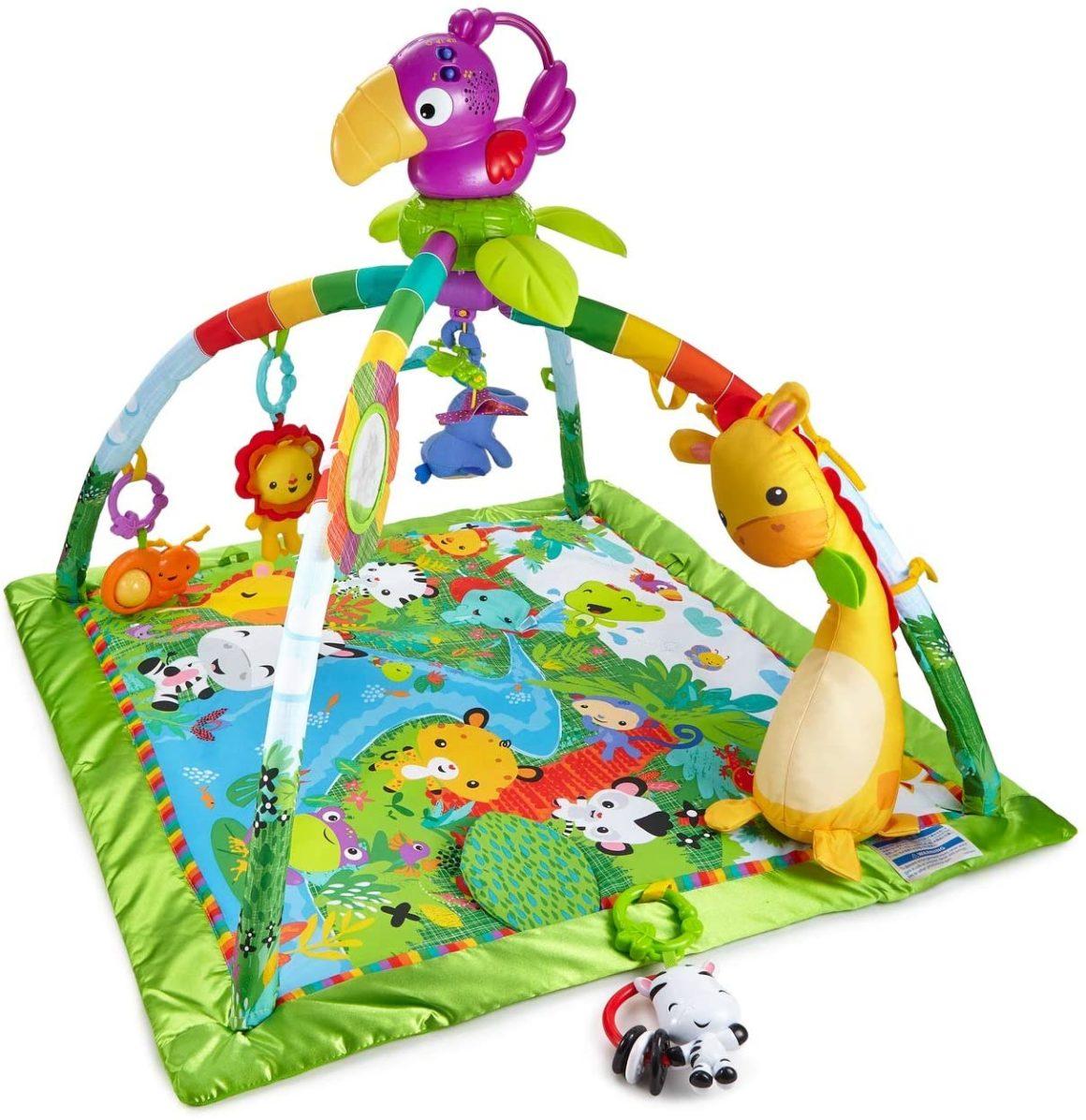 Tappetino musicale Fisher-Price Jungle Awakening Baby