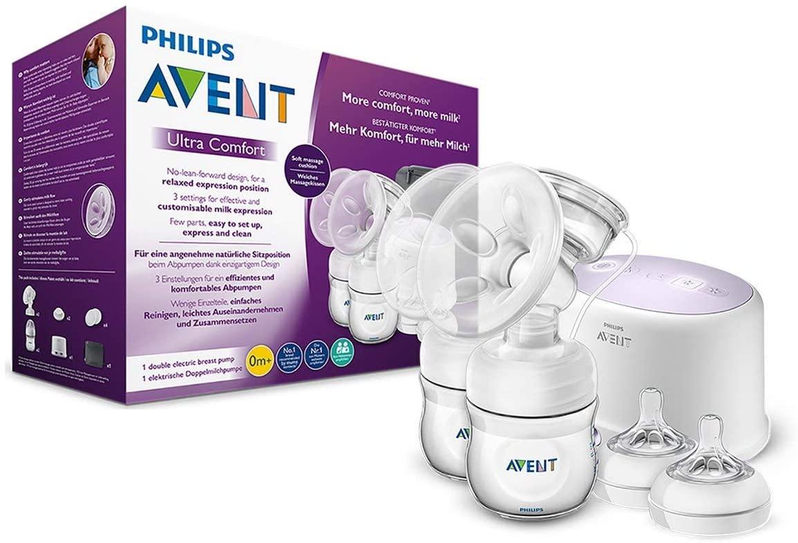 Tiralatte elettrico naturale doppio Philips Avent