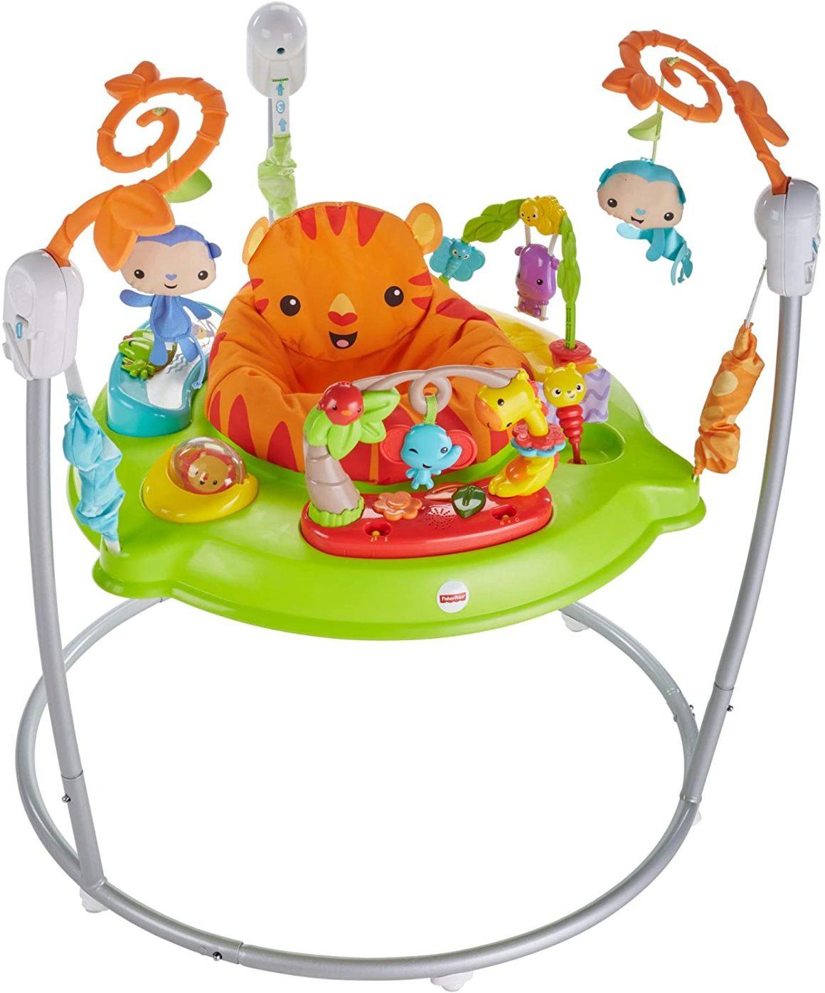 Girello per bambini Fischer-Price Jumperoo Jungle